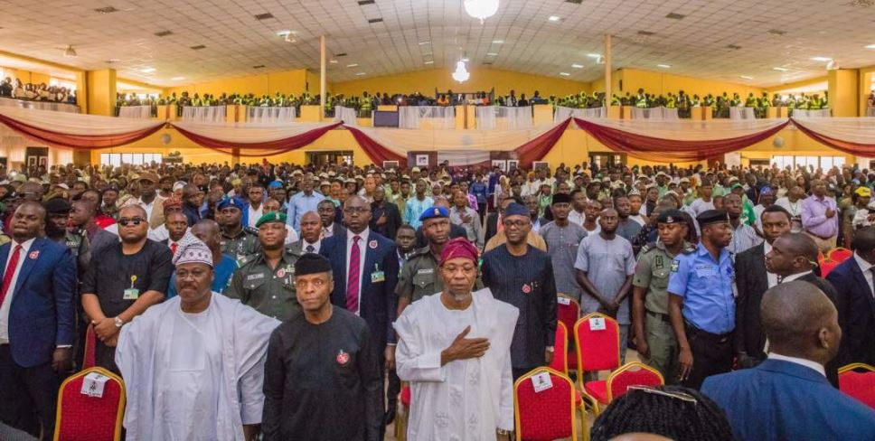 Speech of Prof. Yemi Osinbajo Nigeria's Vice President at South-West Youth Regional Summit