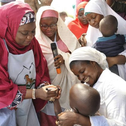 Niger Gov's wife flags off 2018 anti measels campaign