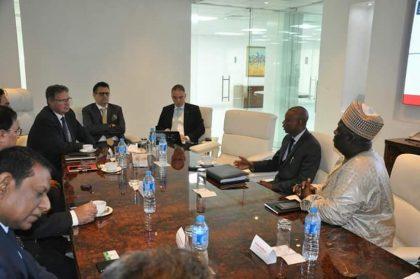NISSAN Motors Visits DG NADDC, Jelani Aliyu