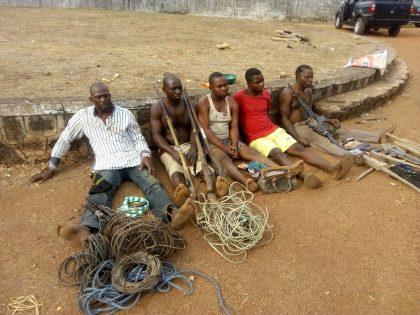 Troops of Operation 'Ayem Akpatuma' Apprehend Akpagher, Aondongu, Terfa and Others for Cattle Rustling at Katsina-Ala, Benue State