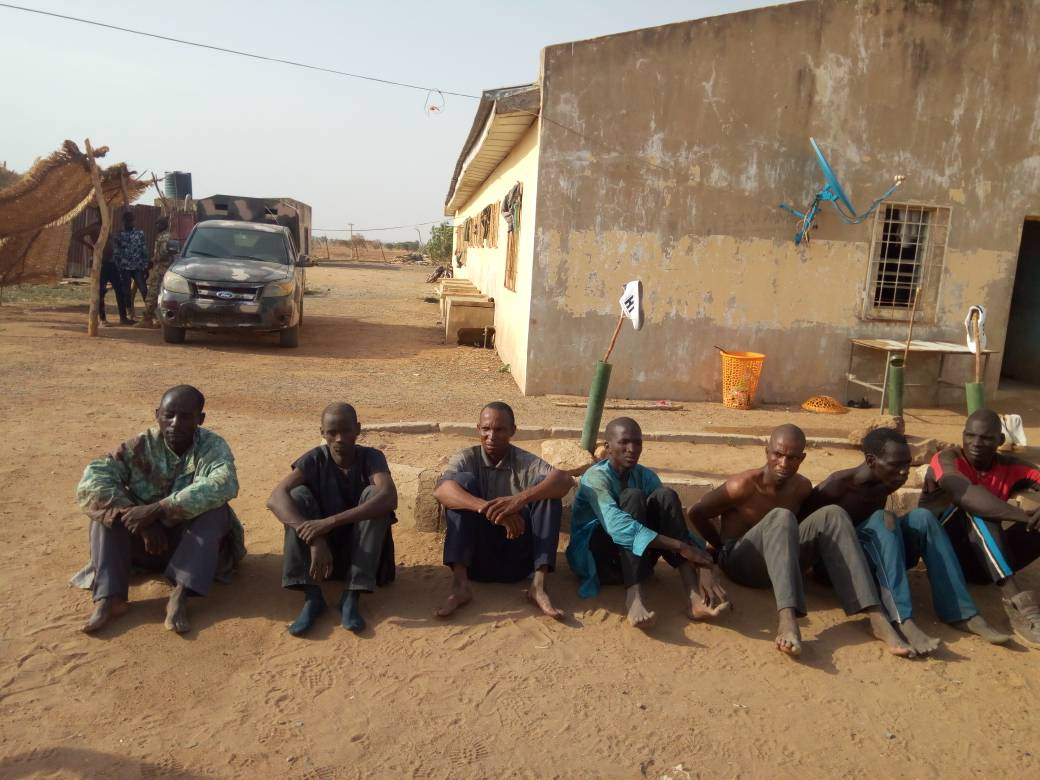 Herdsmen Caught in The Act by Exercise Ayem Akpatuma