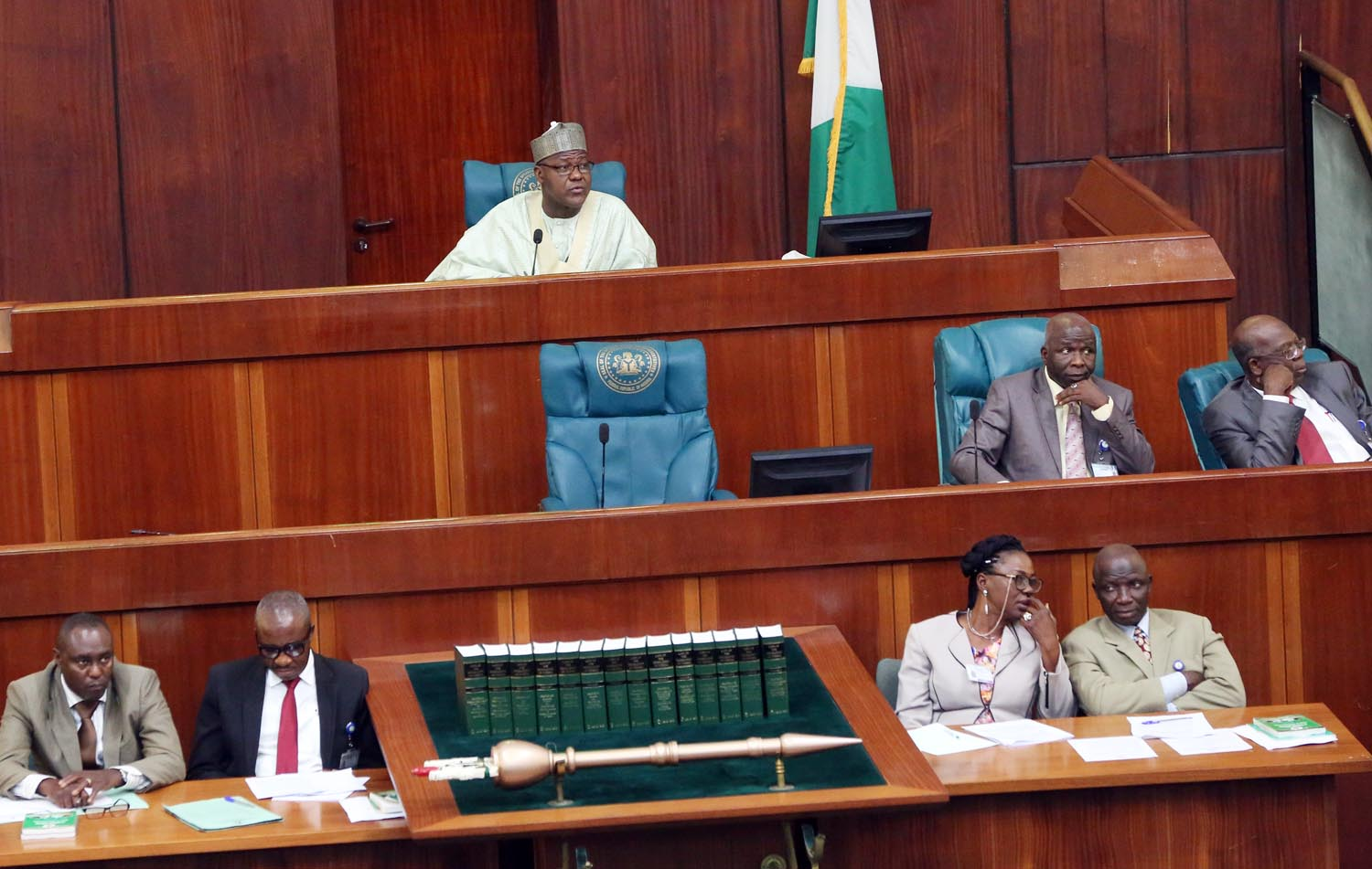 Plenary proceedings at the House of Representatives on Thursday, February 8, 2017