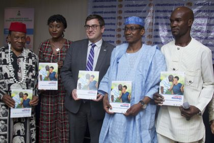 "U.S. Mission Nigeria-supported ""Project PINK BLUE"" launched the Upgrade Oncology"