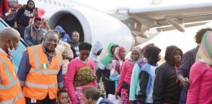 136 Nigerians evacuated from Libya arrive Port Harcourt