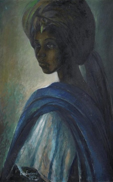 "Missing Iconic Nigerian Painting ""Tutu"" To Be Sold For N100 million In The UK"