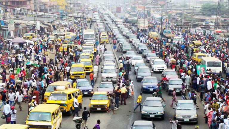 Traffic Congestion Lagos, Nigeria
