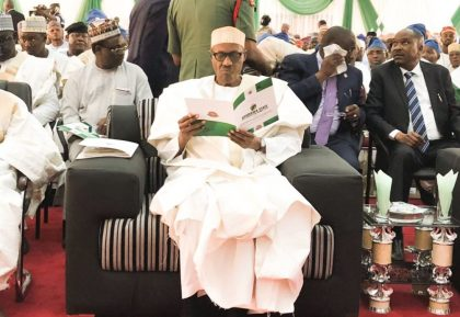 President Buhari's Speech at The First Adamawa State Anti-Corruption Summit