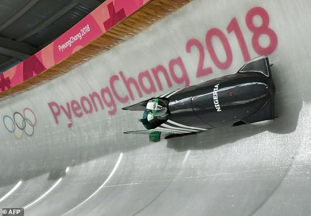 Winter Olympics: Omega Is Nigeria's flag Bearer As Country's Flag Debuts