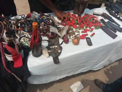 Police Parade 2 Suspects of Political Thugs Terrorizing Kogi State