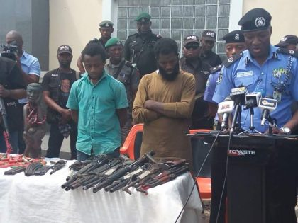 Police Parade 2 Suspects of Political Thugs Terrorizing Kogi State