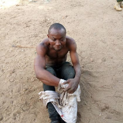 Troops Yesterday in Okene Arrest Bashir Who Allegedly Killed an Army Corporal