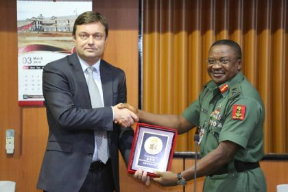 European Union Team up with @HQNigerianArmy on Security