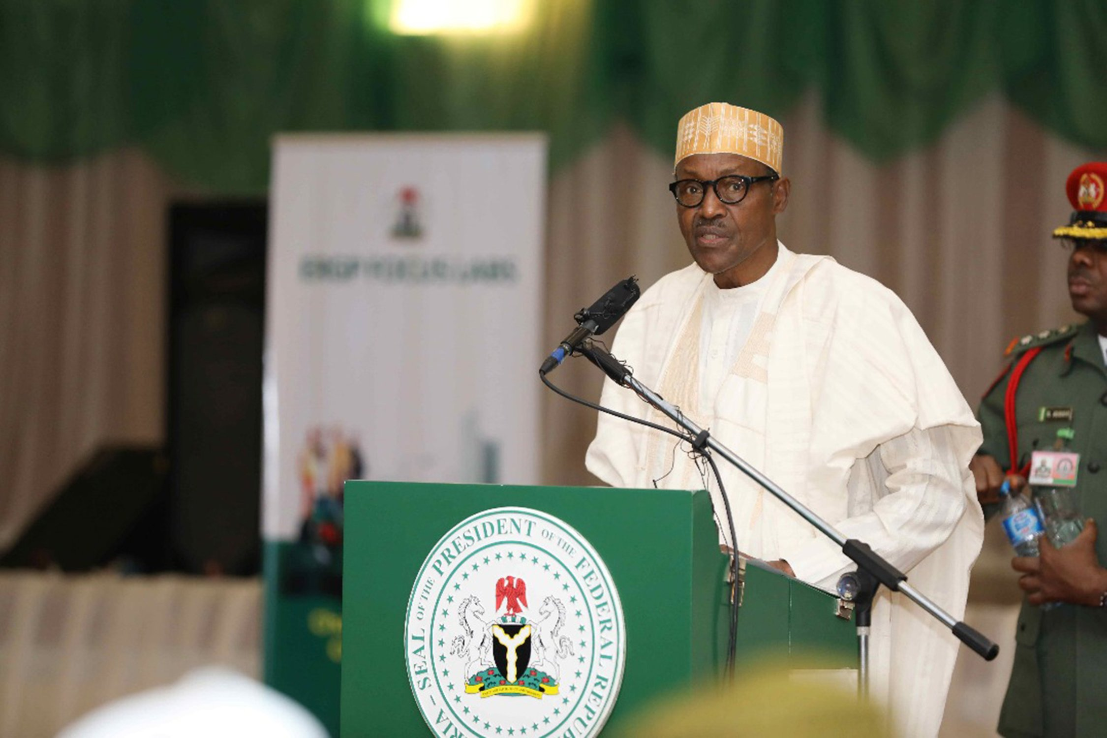 Full Text of President Buhari's Speech at Economic Recovery and Growth Plan