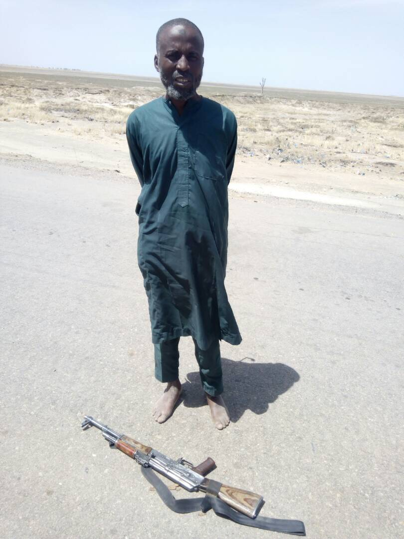 Boko Haram Suspect, Al-Amin Surrenders, Says 'Group Can't Take the Heat'