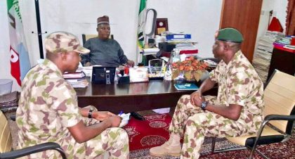 Expanded Borno State Security Meeting with Gov. Shettima