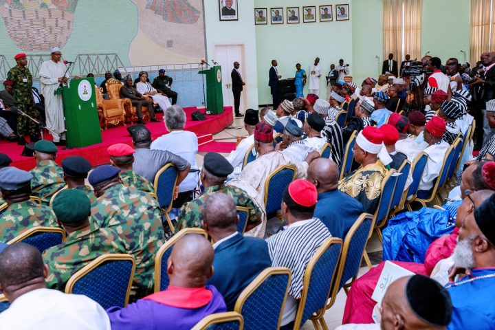 President Buhari Gives Assurance Message to The People of Benue