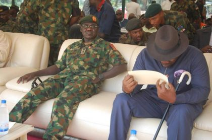 Army Flags off Camp Buratai in Bayelsa
