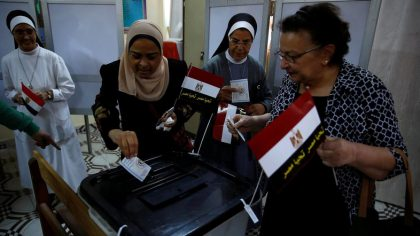 Preliminary Results Show Egypt's Sisi Leading Voting