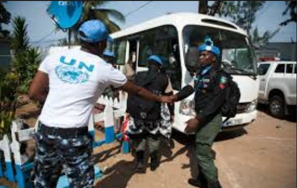 108 Nigerian Police Personnel Withdraw from UN Mission in Liberia
