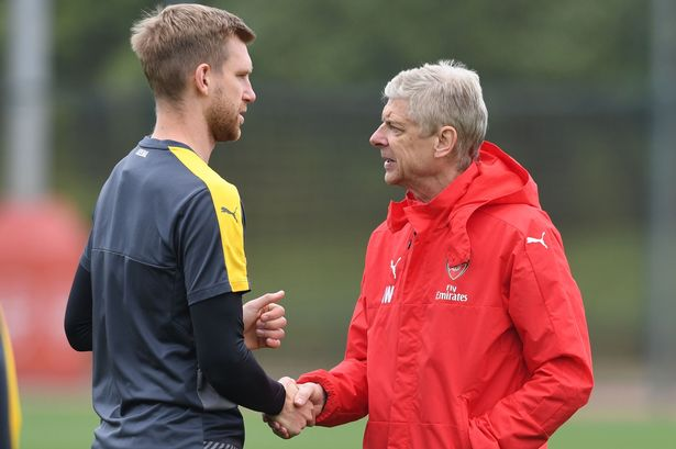 Arsenal Media Team Gets Team Captain, Per's Reaction on Arsene Wenger Exit