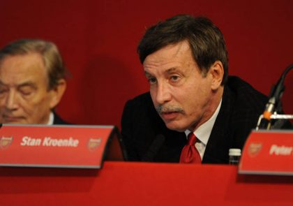 Majority Owner in Arsenal, Stan Kroenke Reacts to Arsene Wenger's Exit