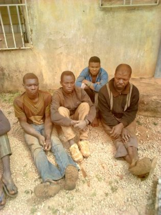 Troops Arrests 5 Criminal Suspects in Mayo Ndaga, Taraba State