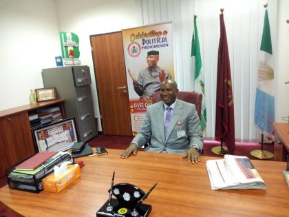 Senator Omo-Agege Resumes Sitting At The Senate