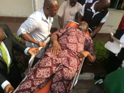 Falana faults Senator Melaye's arraignment on stretcher