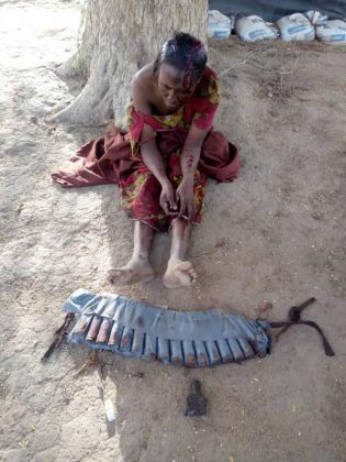 JUST IN: Civilians Foil Female Suicide Bomber in Gashua