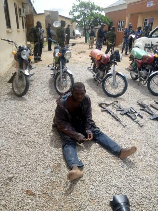Bandits in Adamawa Neutralised, Weapons Recovered