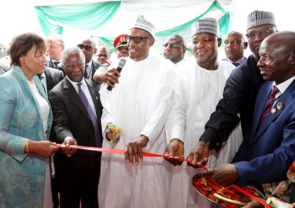 Dogara's Speech at Commissioning of EFCC's New Head Office, Not All Are Corrupt