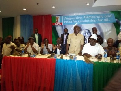 Full Speech of Oshiomhole at Declaration to Contest National Chairman of The APC