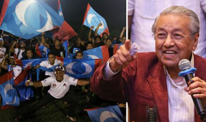 92-year-old Mahathir Mohamad Emerges New Malaysia's President