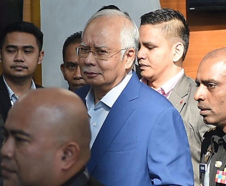 Malaysia's anti-graft agents take ex-PM's statement, meet whistleblower