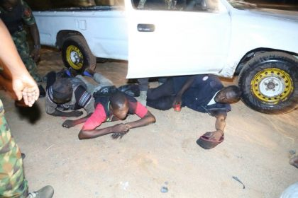 Buratai's Convoy Arrests Armed Robbers in Operation