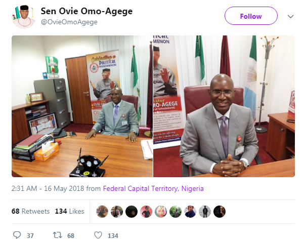 Omo-Agege: Court rejects Senate's stay of execution request