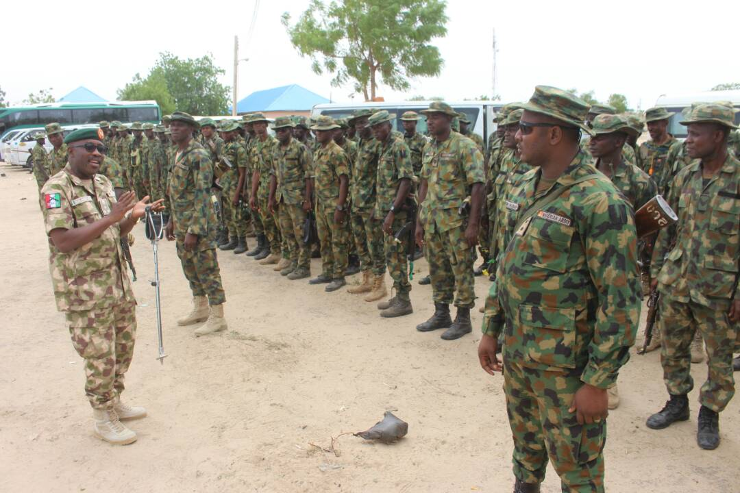 GOC Warns Troop as They Move for Operation Last Hold