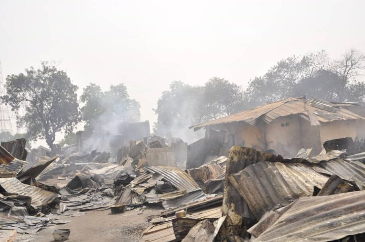 Fire Outbreak Guts Shops in Azare, Bauchi