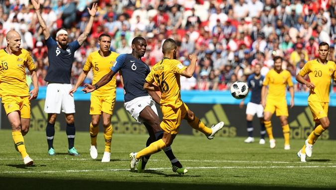 Pogba Earns France 2-1 a Victory as VAR Technology Plays Part
