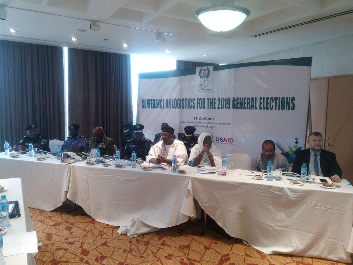 INEC Concludes Planning Stage on Logistics Ahead of 2019