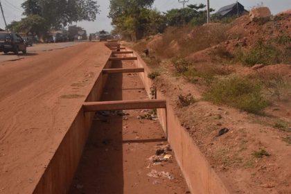 Governor Sani Bello Building Bida's Ecological Problem