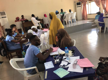.@NePcni Medical Outreach Returns to Gombe