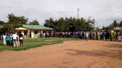 Massive Turnout As Ekiti Voters Troop To Polling Units
