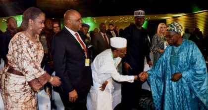 Obasanjo Causes A Stir At Afreximbank Annual Meeting In Abuja