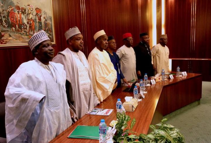 Governors Meet to Discuss FAAC Deadlock, Minimum Wage
