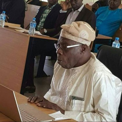 Obasanjo Writes To Congratulate Ekiti State Governor-elect, Dr. Kayode Fayemi