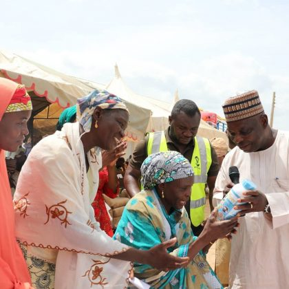 .@VSFnigeria Supports Adamawa IDPs to resume Farming