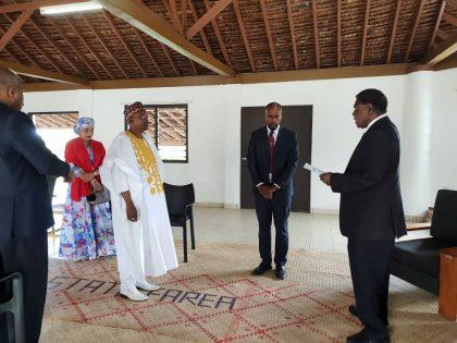 Nigerian Ambassador, Kazaure Presents Letter of Credence