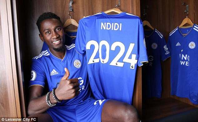 Wilfred Ndidi committing his future to Leicester, signs a six-year deal after starring in the win over Wolves