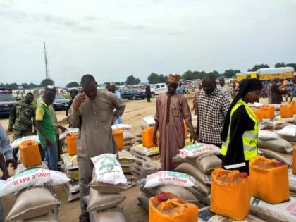 PCNI, RRR Distributes Relief Items in Borno State